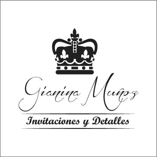 Logo de Gianina+Invitaciones