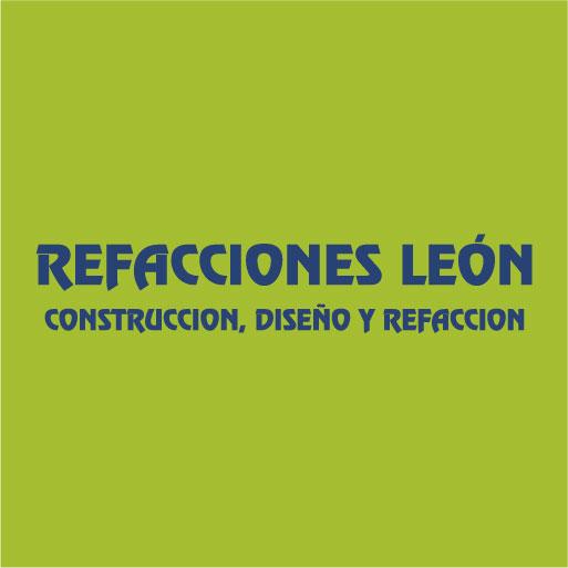 Logo de Refacciones+Le%c3%b3n+Construcci%c3%b3n+Dise%c3%b1o+y+Refacci%c3%b3n