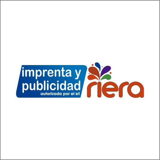 Logo de Imprenta+Riera