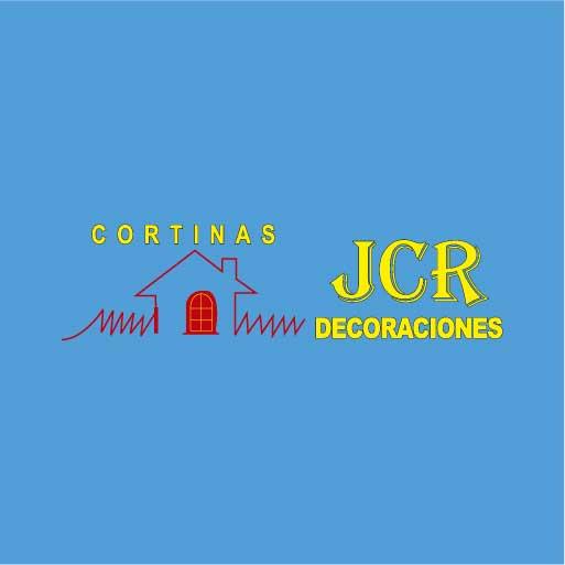 Logo de Cortinas+JCR+Decoraciones