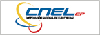 Logo de Empresa+El%c3%a9ctrica+P%c3%bablica+Estrat%c3%a9gica+Corporaci%c3%b3n+Nacional+de+Electricidad+CNEL+EP