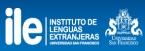 Logo de ILE - USFQ