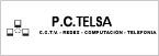 Logo de P.C.+Telsa