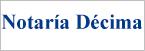 Logo de Notar%c3%ada+D%c3%a9cima