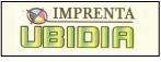 Logo de Imprenta+Ubidia