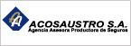Logo de Acosaustro+S.A.+Agencia+Asesora+Productora+de+Seguros