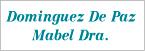 Logo de Dominguez+de+Paz+Mabel+Dra.