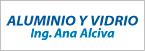 Logo de Aluminio+y+Vidrio+Ing.+Ana+Alc%c3%advar