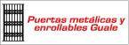 Logo de Puertas+Met%c3%a1licas+y+Enrollables+Guale
