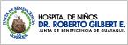 Logo de Hospital+de+Ni%c3%b1os+Dr.+Roberto+Gilbert+E.