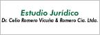 Logo de Estudio+Jur%c3%addico+Dr.+Celio+Romero+Vicu%c3%b1a+%26+Romero+Cia.+Ltda.