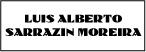 Logo de Sarrazin+Moreira+Luis+Alberto+Dr.