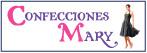Logo de Confecciones+Mary