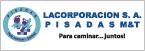 Logo de Lacorporacion+S.A.+PISADAS