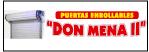 Logo de Puertas+Enrollables+%22Don+Mena+II%22
