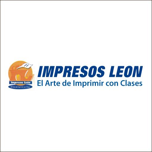 Logo de Impresos+Le%c3%b3n