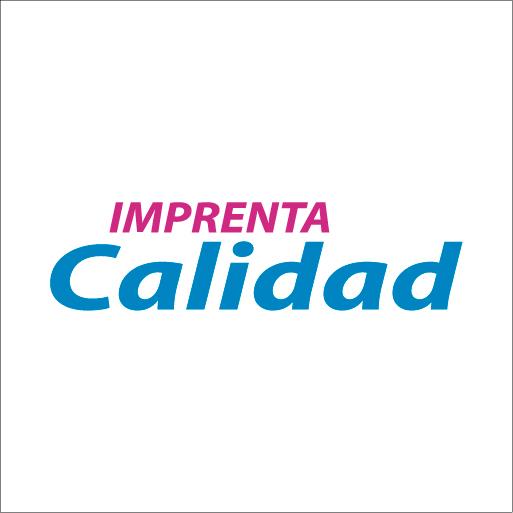 Logo de Imprenta+Calidad