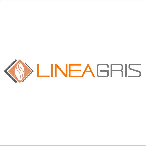 Logo de Linea+Gris