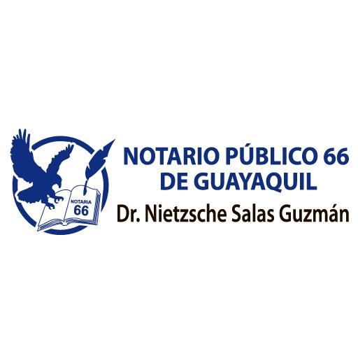Logo de Notar%c3%ada+P%c3%bablica+66+del+Cant%c3%b3n+Guayaquil