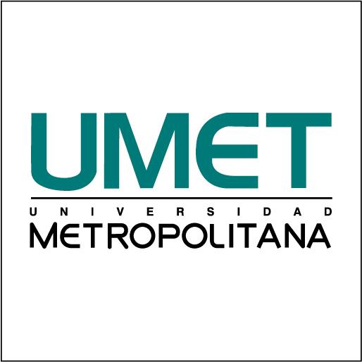 Logo de UMET- Universidad Metropolitana del Ecuador