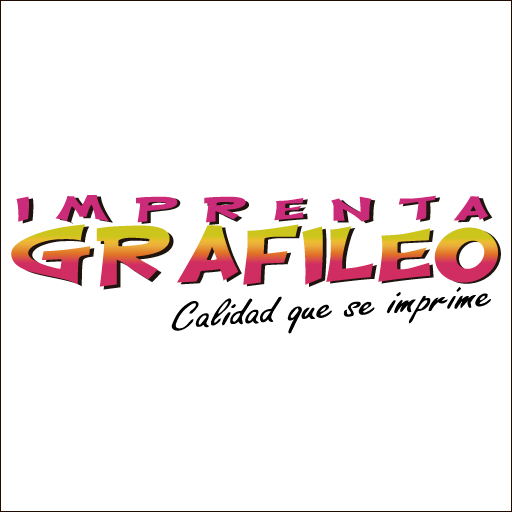 Logo de Imprenta+Grafileo