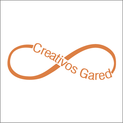 Logo de Creativos+Gared