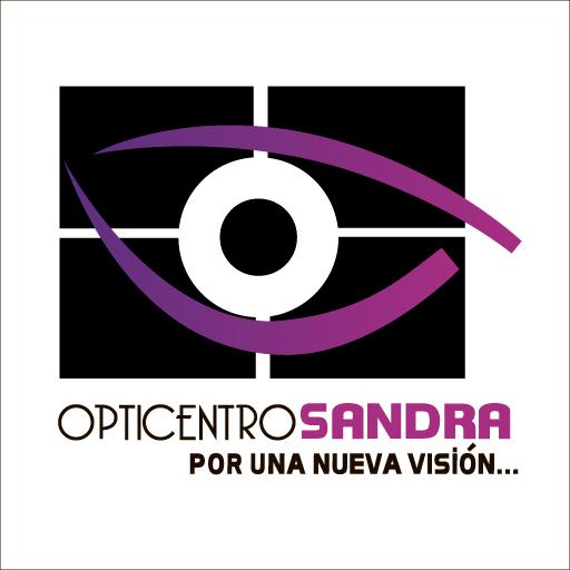 Logo de Opticentro+Sandra