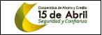Logo de Cooperativa+de+Ahorro+y+Cr%c3%a9dito+15+de+Abril+Ltda