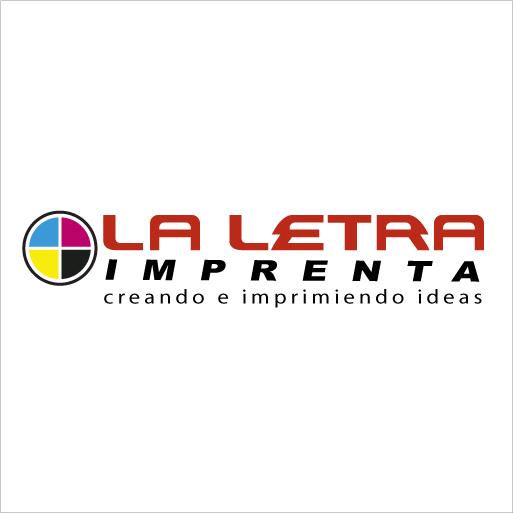 Logo de Imprenta+La+Letra
