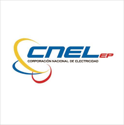 Logo de Corporación Nacional de Electricidad CNEL EP Unidad de Negocio El Oro