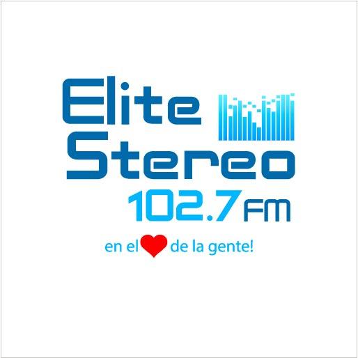 Logo de Radio+Elite+102.7+FM