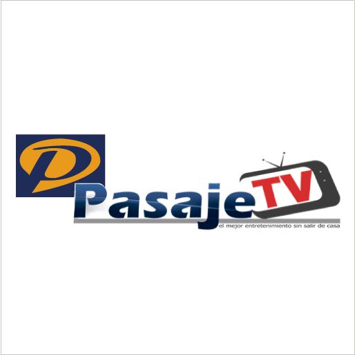 Logo de Pasaje+TV