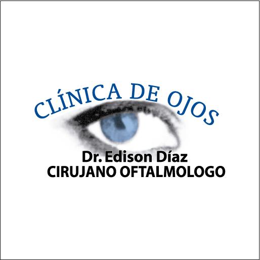 Logo de Cl%c3%adnica+De+Ojos+Dr.+Edison+D%c3%adaz