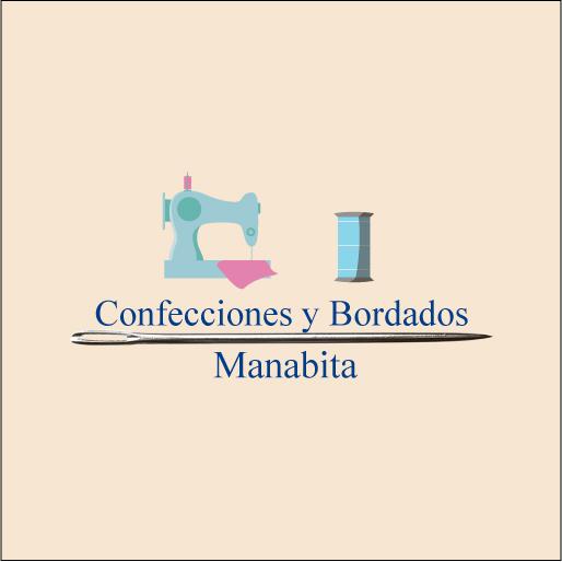 Logo de Confecciones+Manabita