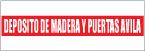 Logo de Dep%c3%b3sito+de+Madera+y+Puertas+%c3%81vila