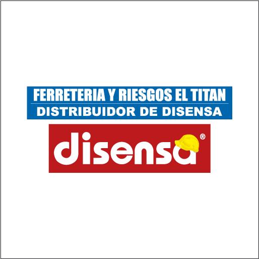 Logo de Ferreter%c3%ada+y+Riegos+El+Titan+Distribuidor+de+Disensa